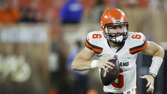 Cleveland Browns quarterback Baker Mayfield returned praise to New Orleans Saints great Drew Brees.