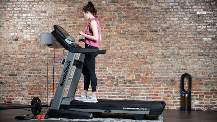 This treadmill is  a great all-around surface for running and walking (and standing).