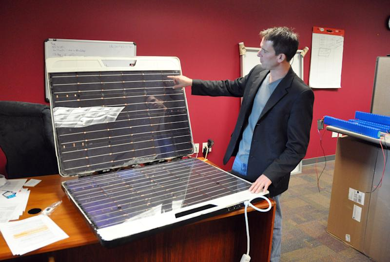 Solar device looks to add outlets to remote spots