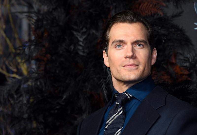 Henry Cavill at The Witcher premiere