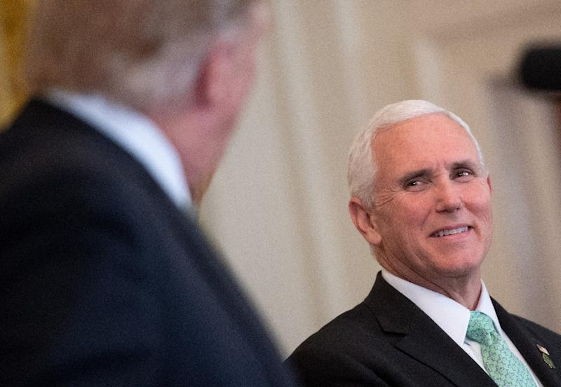 President Trump simply backed the exposure of information during the 2016 election, not the WikiLeaks organization itself, Vice President Mike Pence said