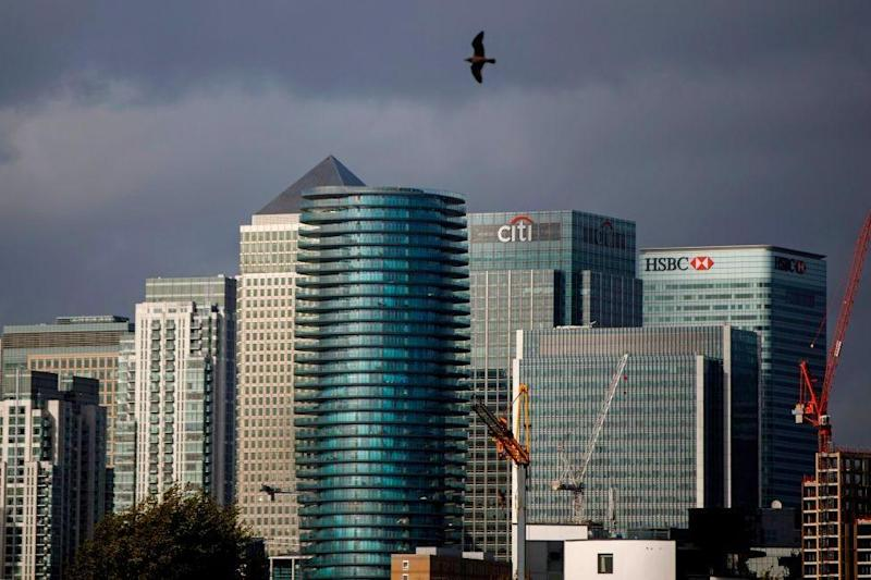 Citigroup's European HQ in Canary Wharf: AFP via Getty Images