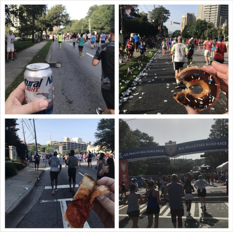 This is how you do a 10K right. (Courtesy of Jay Busbee)