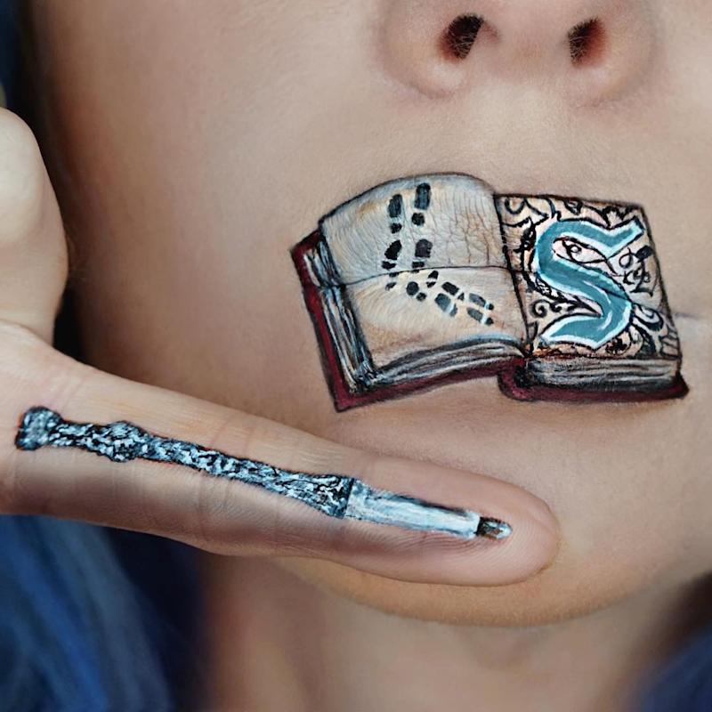 These Harry Potter Lip Art Designs Will Speak To Your Muggle Heart