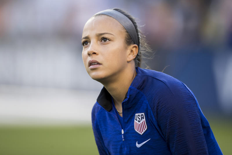 USWNT star Mallory Pugh never played a game for UCLA. Might that have changed if the proposed NIL rule had been in effect? (Getty)