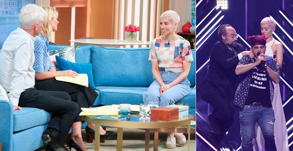 SuRie appeared on This Morning for her first interview since Eurovision, (REX)