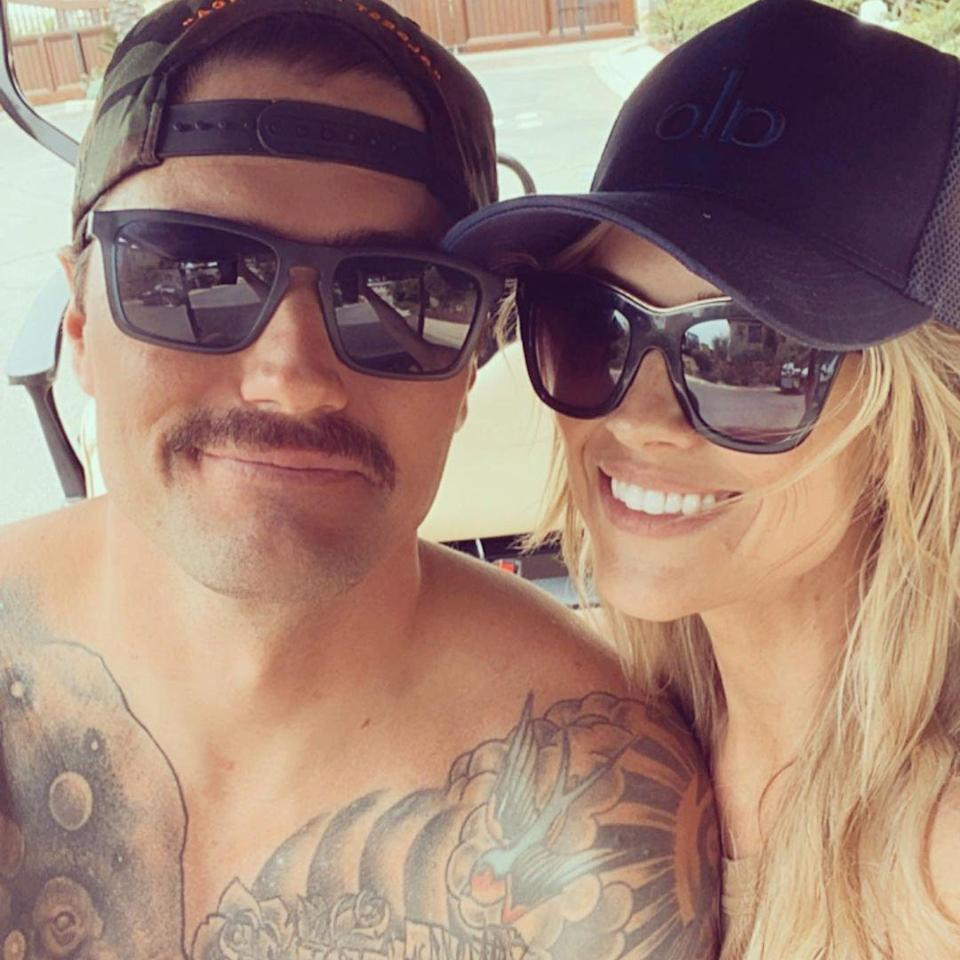 """<p>The star shared a <a href=""""https://people.com/home/christina-haacks-new-boyfriend-joshua-hall-joins-family-beach-day-all-my-babes/"""" rel=""""nofollow noopener"""" target=""""_blank"""" data-ylk=""""slk:cute slideshow of photos"""" class=""""link rapid-noclick-resp"""">cute slideshow of photos</a> from her """"Beach daze with all my babes"""" <a href=""""https://www.instagram.com/p/CRuVfsbDG2J/"""" rel=""""nofollow noopener"""" target=""""_blank"""" data-ylk=""""slk:on Instagram"""" class=""""link rapid-noclick-resp"""">on Instagram</a>, featuring photos of her three kids and new beau.</p>"""