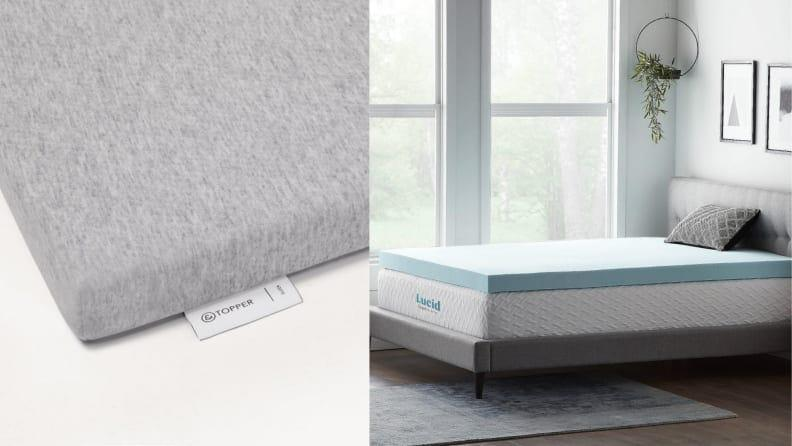 Beyond any appliances, a mattress topper should be the biggest investment you make in your dorm room.