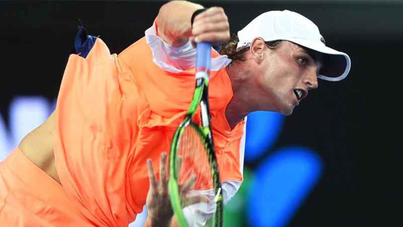 Australia's Chris O'Connell is ranked world No.120 after a stunning winning run. (AAP)