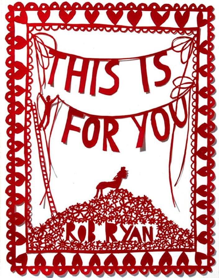<p>A graphic novel of poetry and stunning art. </p> <p><span>This Is For You</span> ($17)</p>