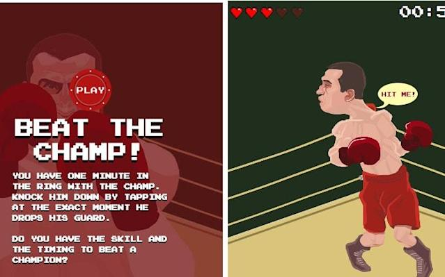 How quickly can you defeat the champ?