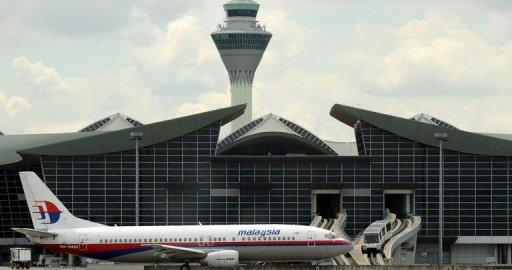 A Malaysian Airlines plane taxis at Kuala Lumpur International Airport
