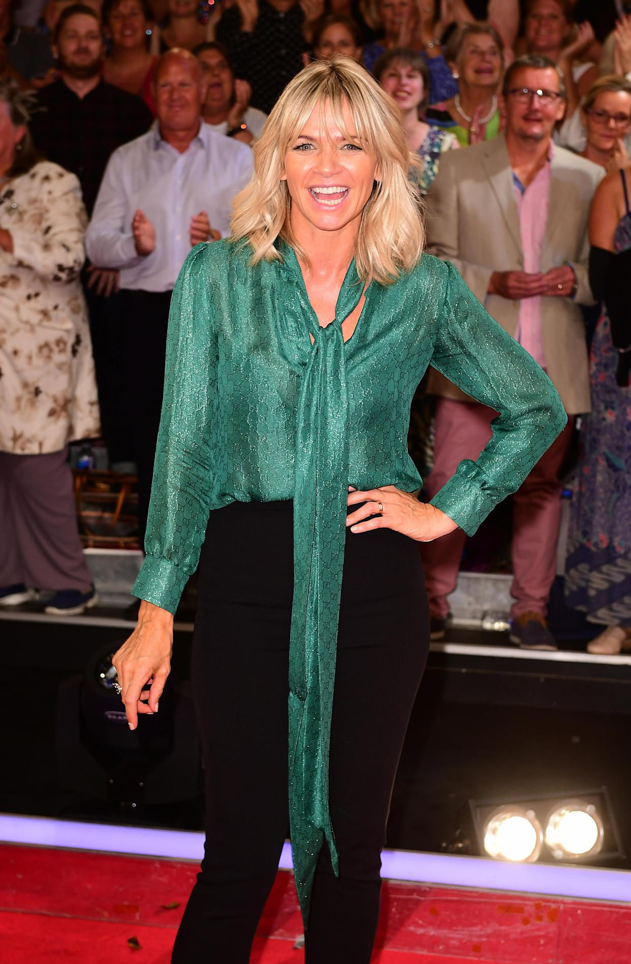 Zoe Ball at the launch of Strictly Come Dancing 2016 at Elstree Studios in Hertfordshire. Picture date: Tuesday 30th August, 2016. See PA story SHOWBIZ Strictly. Photo credit should read: Ian West/PA Wire.