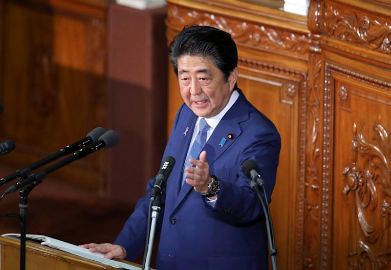 Shinzo Abe Aims to Rewrite Japan Constitution as he Seeks 3rd Term