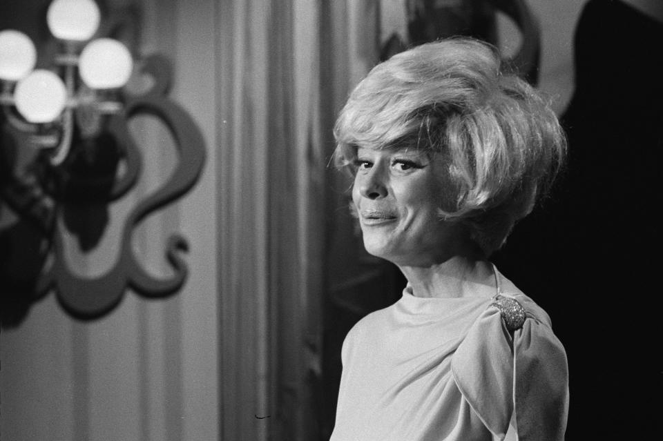 """Carol Channing on """"An Evening With Carol Channing"""". Image dated August 29, 1965. (Photo by CBS via Getty Images)"""