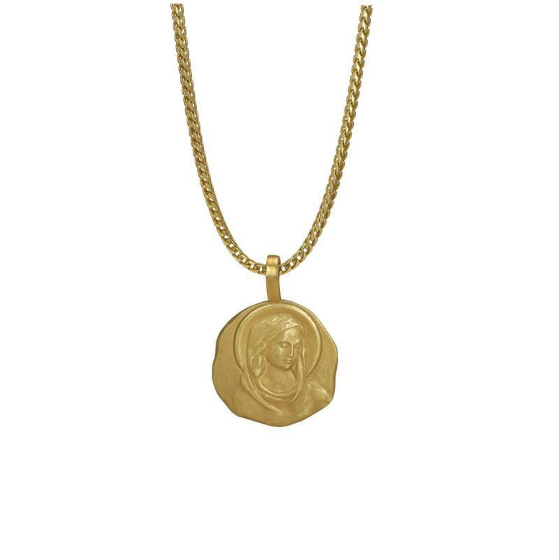 "<p>18k yellow gold, 22″ chain, weight 34.7g. <br>(Photo: <a href=""https://yeezysupply.com/products/s4010"" rel=""nofollow noopener"" target=""_blank"" data-ylk=""slk:Yeezy Supply"" class=""link rapid-noclick-resp"">Yeezy Supply</a>) </p>"