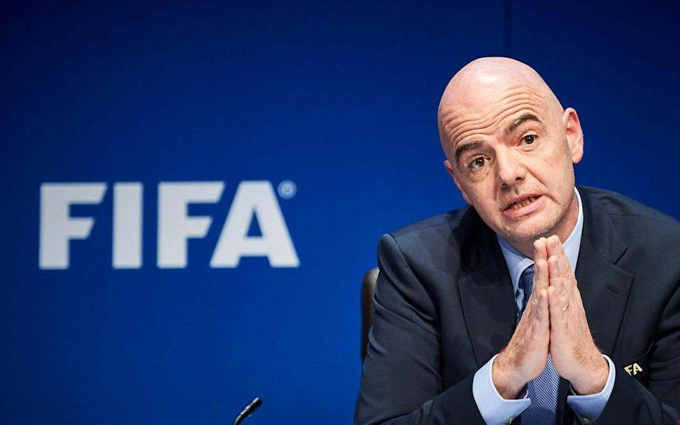 Any bid involving Israel could deal a further blow to a joint British and Irish attempt to land the 2030 World Cup - AFP