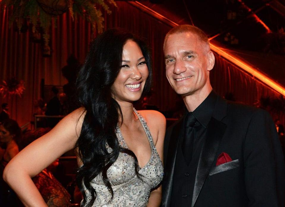 Kimora Lee Simmons and Tim Leissner attend The Weinstein Company & Netflix's 2014 Golden Globes After Party on January 12, 2014 in Beverly Hills, California.