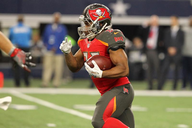 Tampa Bay Buccaneers running back Doug Martin