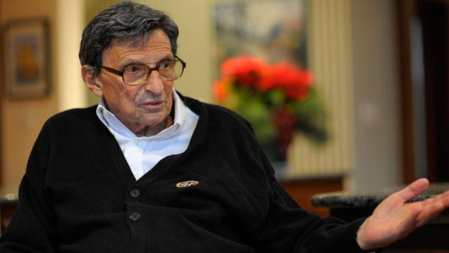 Joe Paterno Admits He Did Not Know How to Handle Sex Allegation