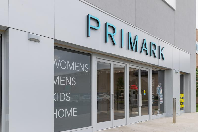 New Jersey NJ,October 7 2018: Primark is an international clothing retailer.
