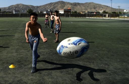 Rugby has built up a small but loyal following in Afghanistan