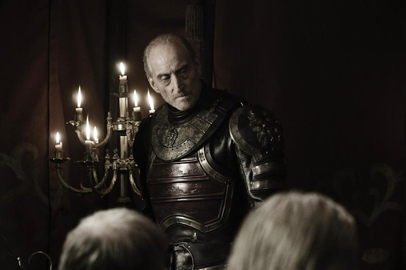 In character: Charles Dance as Lord Tywin Lannister (HBO)