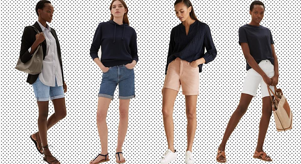 These M&S shorts are the summer essential we plan to wear all season.  (M&S/ Yahoo Style UK)