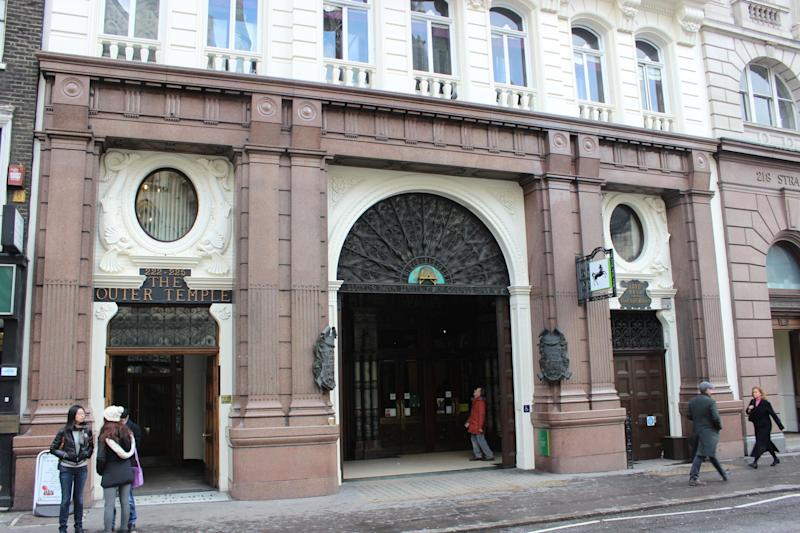 The building was converted into a branch of Lloyds bank in 1895: Maggie Jones
