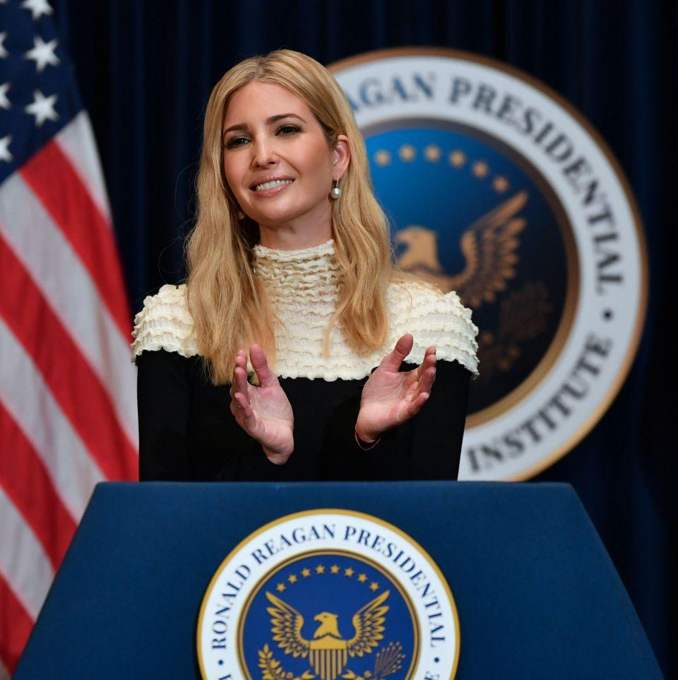 Ivanka's come under fire for her belated tweets to Harry and Meghan. Photo: Getty