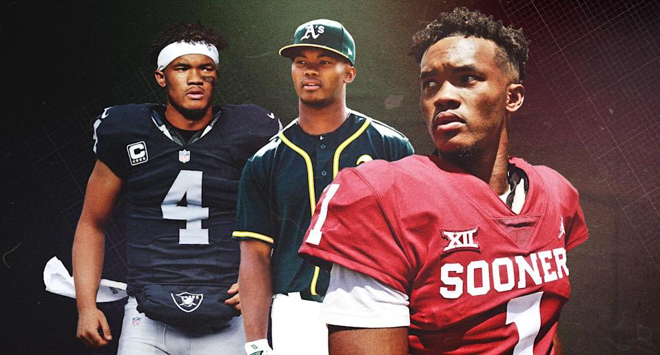 All eyes will be on Kyler Murray in the coming days as he makes a decision on his athletic future. (Amber Matsumoto/Yahoo Sports)