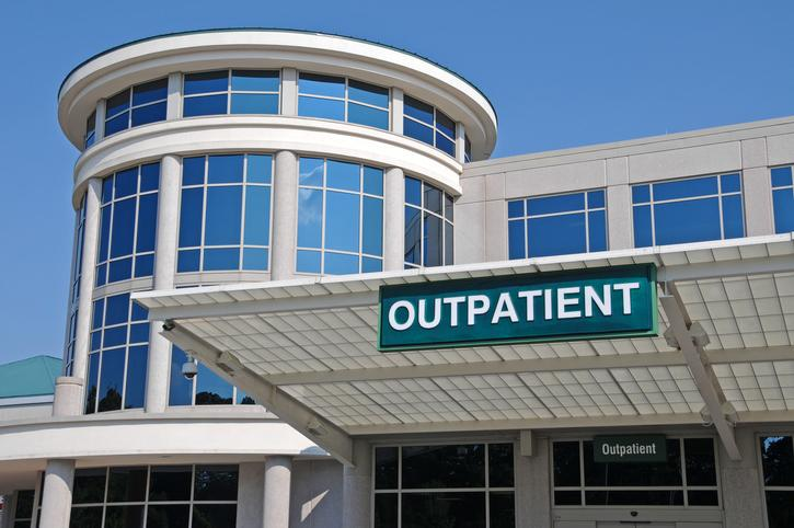 An outpatient surgery facility.