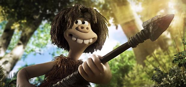 A scene in the animation movie Early Man.