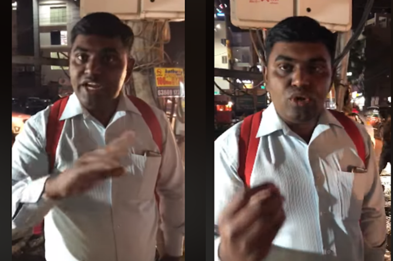 Sanskari Much? Bengaluru Man Stops Woman in Shorts, Instructs Her to 'Follow Indian Rules'