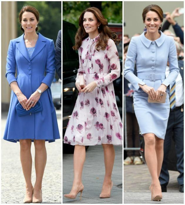 Stylists say Kate likely has back-ups of her fave pumps. Photo: Getty