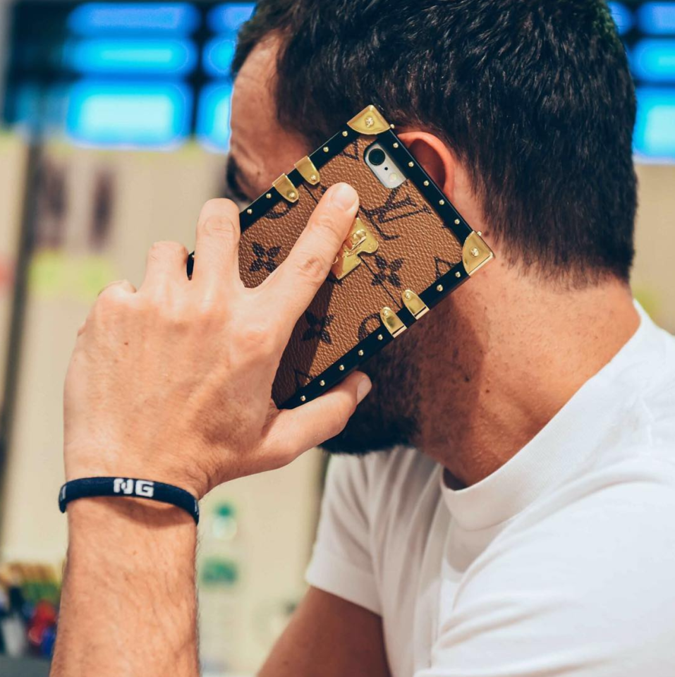 <p>The modern woman can go without a bag, said Nicolas Ghesquière. So he ingeniously turned LV's infamous Petite Malle bag into a luxe logo phone case. The range of designs hits stores in January but already has a huge waiting list so hurry. <i>[Photo: Instagram/nicolasghesquiere]</i> </p>