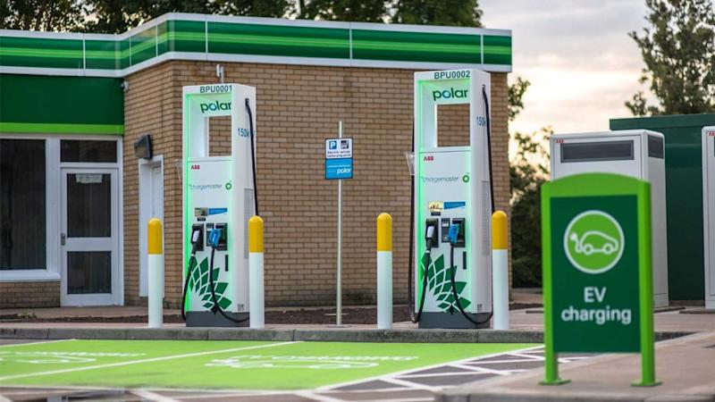 BP Chargemaster ultra-fast charging (150 kW) station