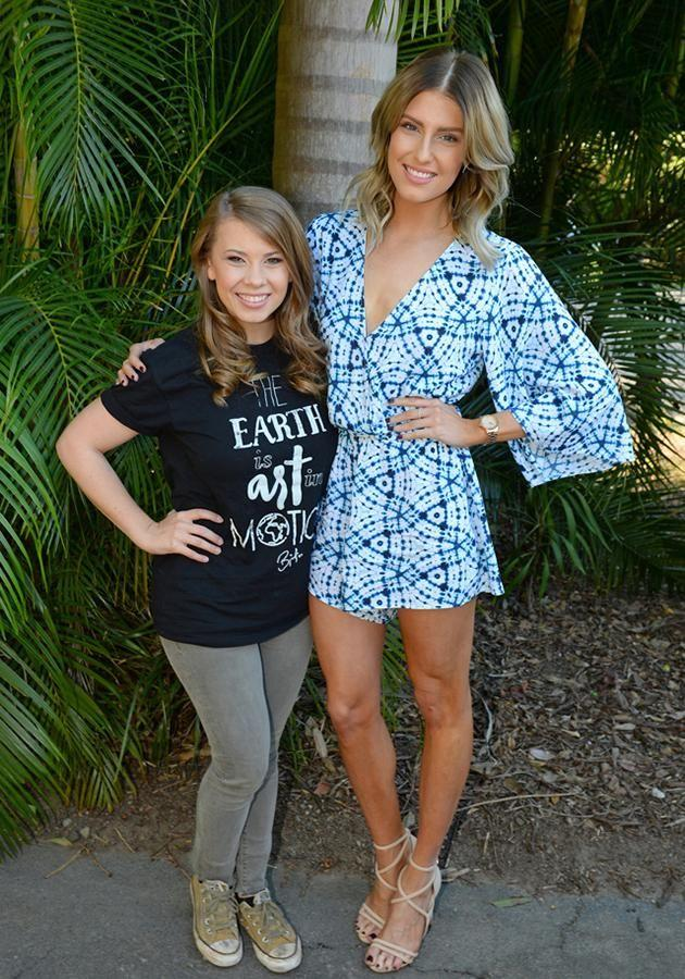 Bindi Irwin and Erin Holland. Source: Supplied
