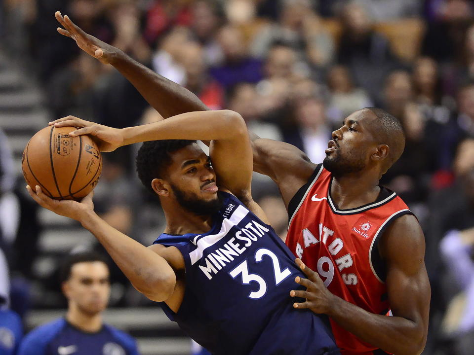 Karl-Anthony Towns sealed the game with two free throws late in the game. Minnesota made it to the free throw line 30 times against the Lakers.