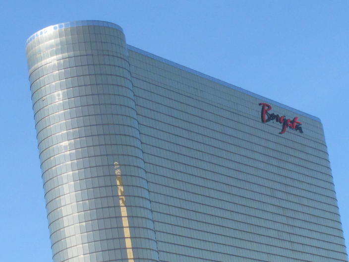 This Oct. 1, 2020 photo shows the exterior of the Borgata casino in Atlantic City, N.J. On May 7, 2021, MGM Resorts International said the company had dismissed its lawsuit against the Ocean Casino Resort following a settlement reached by both parties. Borgata had accused Ocean of poaching some of its top executives and trying to steal vital trade secrets. (AP Photo/Wayne Parry)