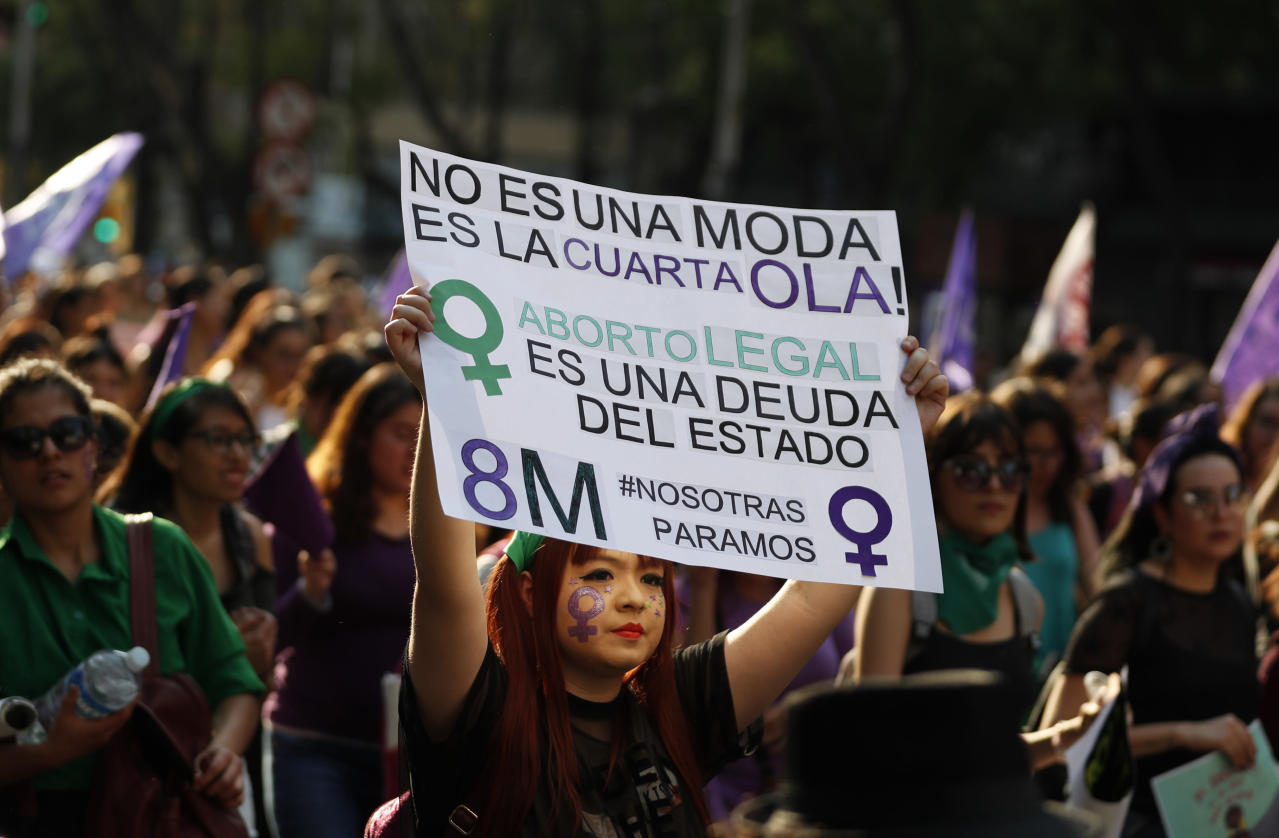 AP Explains: Abortion rights in Mexico and Latin America