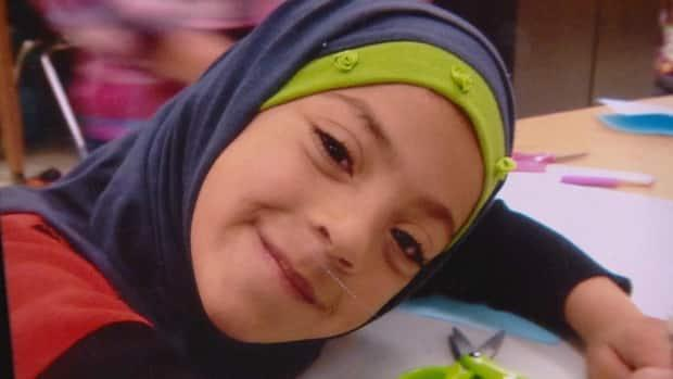 Amal Alshteiwi, 9, died by suicide after months of bullying, her mother says. (Submitted - image credit)