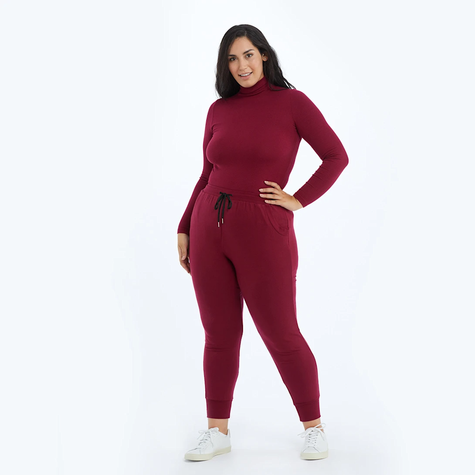 """<br><br><strong>Summersalt</strong> The Softest French Terry Jogger, $, available at <a href=""""https://go.skimresources.com/?id=30283X879131&url=https%3A%2F%2Fwww.summersalt.com%2Fproducts%2Fthe-softest-french-terry-jogger-pinot"""" rel=""""nofollow noopener"""" target=""""_blank"""" data-ylk=""""slk:Summersalt"""" class=""""link rapid-noclick-resp"""">Summersalt</a>"""