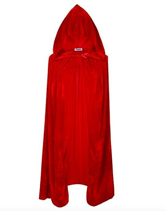 <p>Anyone dressing up like Mary Sanderson is going to need this bright red <span>VGLOOK Kids Hooded Cloak Cape</span> ($13-$17) to create an authentic look.</p>