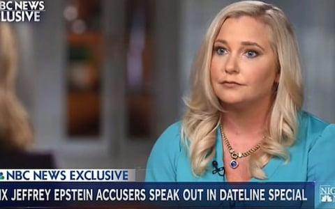 Virginia Roberts Giuffre, who says she was trafficked by billionaire pedophile Jeffrey Epstein, claims she had sex with Prince Andrew, the first time when she was just 17 - Credit: Dateline NBC
