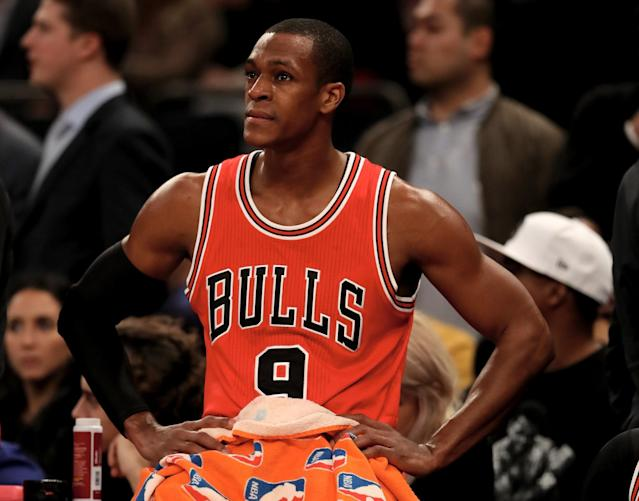 Just as Rajon Rondo seemingly found his footing with Chicago, his season takes another turn. (AP)