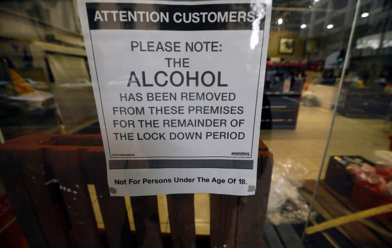 South Africans quench thirst with moonshine during lockdown ban