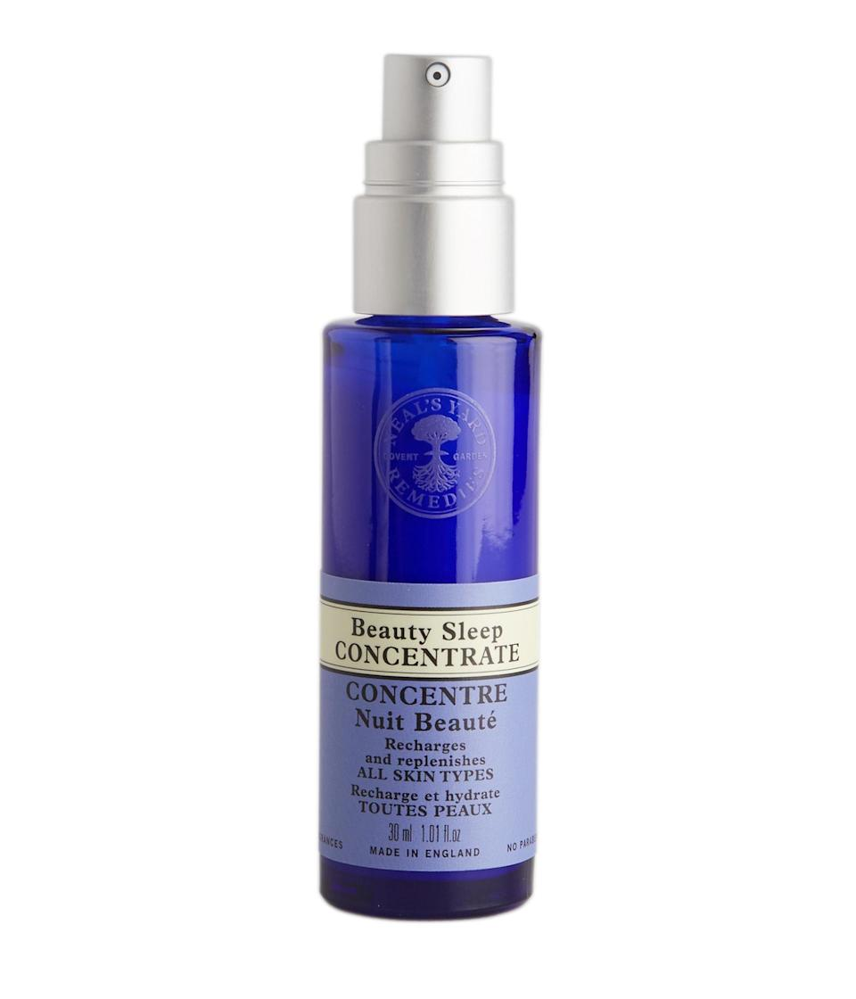 """<p>This best selling serum replenishes skin while you sleep. With beautifully scented Ylang Ylang, it's organic, vegan AND clinically proven to moisturise for up to 24 hours. All you have to do it put it on and sleep. <a rel=""""nofollow noopener"""" href=""""http://tidd.ly/f2f68106"""" target=""""_blank"""" data-ylk=""""slk:Buy here"""" class=""""link rapid-noclick-resp"""">Buy here</a> </p>"""