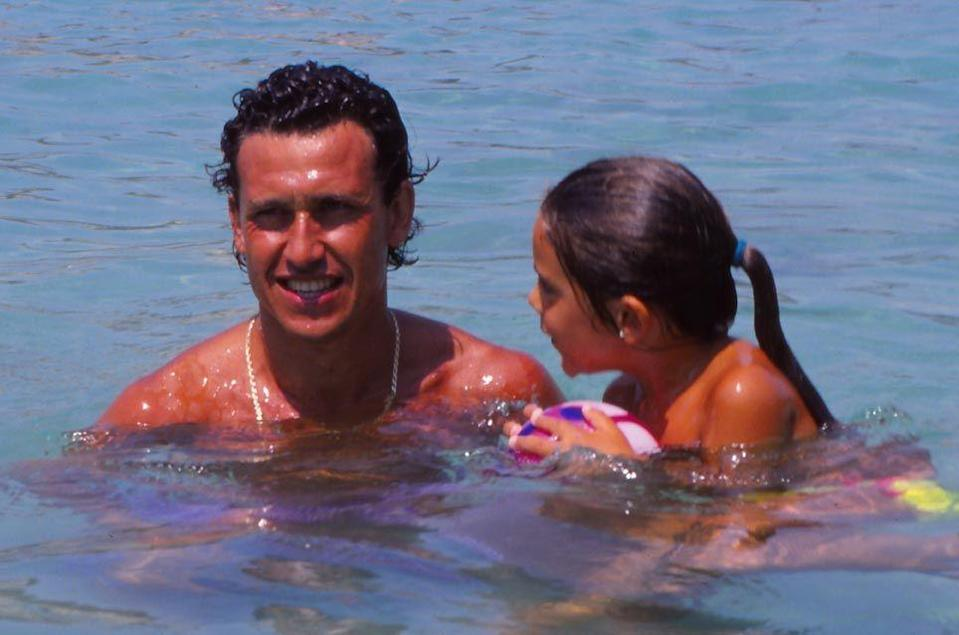 <p>Soccer player Jorge Valdano during the holidays in Menorca, Spain.</p><p>Other celebrity visitors this year: Princess Diana.<br></p>
