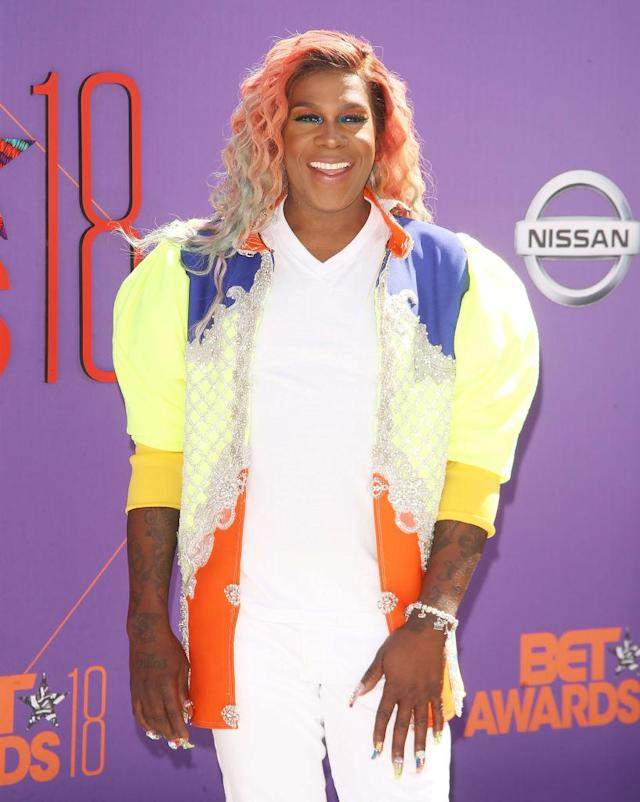 <p>You already knew the Queen of Bounce was going to bring it, and Big Freedia did just that with these rainbow waves. (Photo: Getty Images) </p>